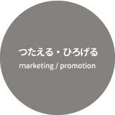 つたえる・ひろげる マーケティング/プロモーション
